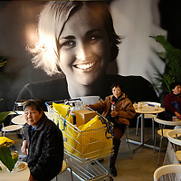 Customers at the IKEA Beijing store on opening day.