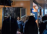 Students get the portrait taken at Senior Fest inside of Hemmingson Center. Photo by Edward Bell.