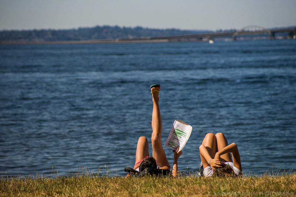 Lounging @ Seward Park