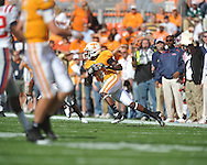 Tennessee wide receiver Denarius Moore (6) makes a catch in a college football game at Neyland Stadium in Knoxville, Tenn. on Saturday, November 13, 2010. Tennessee won 52-14.