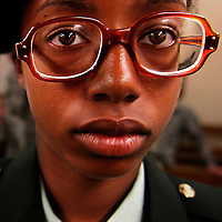 "GI glasses are eyeglasses issued by the American military to its service members. Dysphemisms for them include the most common birth control glasses and variants. At one time they were officially designated as ""Regulation Prescription Glasses"", or ""RPGs"". This was commonly said to mean ""Rape Prevention Glasses"" due to their unstylish appearance."
