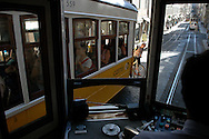 Lisbon's tramways are a well-known touristic attraction. The first carrier took place in 1901 and there are still several ones covering the oldest neighborhoods of the city.