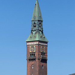 Copenhagen City Hall is the headquarters of the municipal council as well as the Lord mayor of the Copenhagen Municipality, Denmark. The building is situated on The City Hall Square in central Copenhagen.
