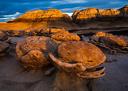 "The ""Egg Garden"". Bisti Wilderness of northwest New Mexico."