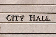 City Hall Wall Logo, Los Angeles, California