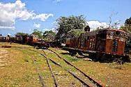 Locomotives in Jesus Menendez, Las Tunas, Cuba.