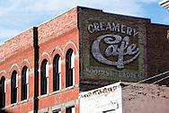 Butte Montana, antique mural, uptown
