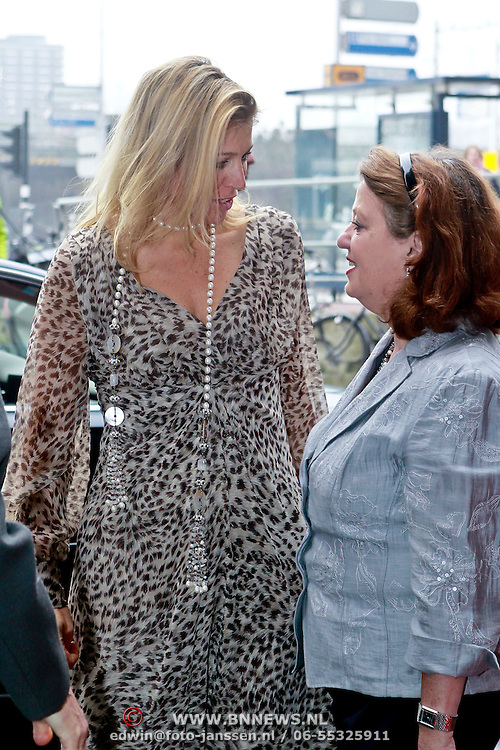 NLD/Amsterdam/20110304 - Prinses Maxima opent Women Inc.,