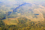 Aerial view of Makhtesh Ramon (Ramon Crater) Negev, Israel