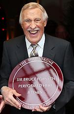 AUG 07 2013 Sir Bruce Forsyth unveils memorial plaques