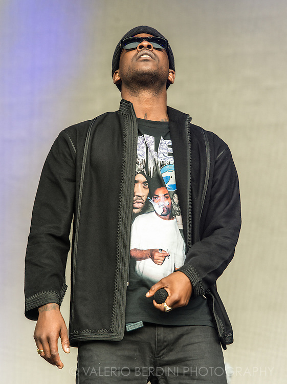 Skepta at the first day of Field Day Festival in London on Saturday, 11 June 2016.