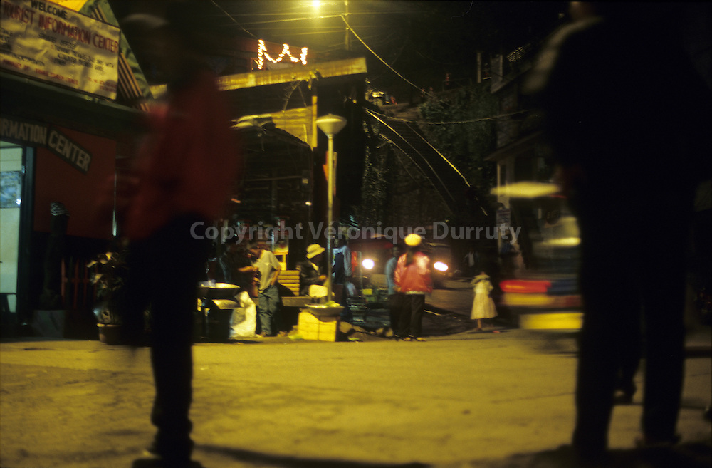 CEBU CITY AT NIGHT, CEBU ISLAND, THE VISAYAS, THE PHILIPPINES