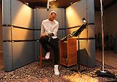 3/19/2013 - Chris Brown in Recording Studio