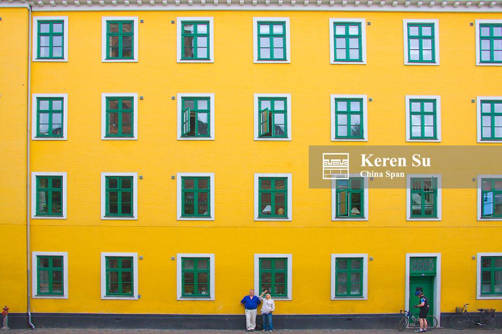 Building, Copenhagen, Denmark