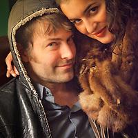 Ahren Lutz and his girlfriend, Signe Bergmark, Oscar Gill House