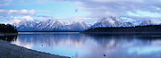 Jackson Lake and the Teton Range, Early Light, Grand Teton National Park