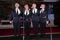 G4 Christmas By Candlelight Concert held at St James Church, Piccadilly, London on Monday 7 December 2015