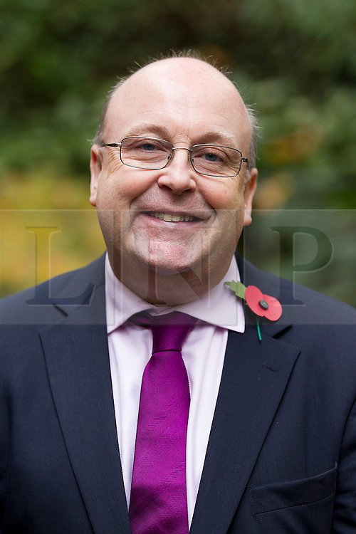 © Licensed to London News Pictures. 24/10/2012. LONDON, UK. Stephen West, the UK Independence Party Police and Crime Commissioner candidate for Greater Hampshire, is seen after a press conference in London today (24/10/12).  The conference was held by the party to announce their 25 candidates who will stand for the position of Police and Crime Commissioner in various constabularies across England and Wales. Photo credit: Matt Cetti-Roberts/LNP