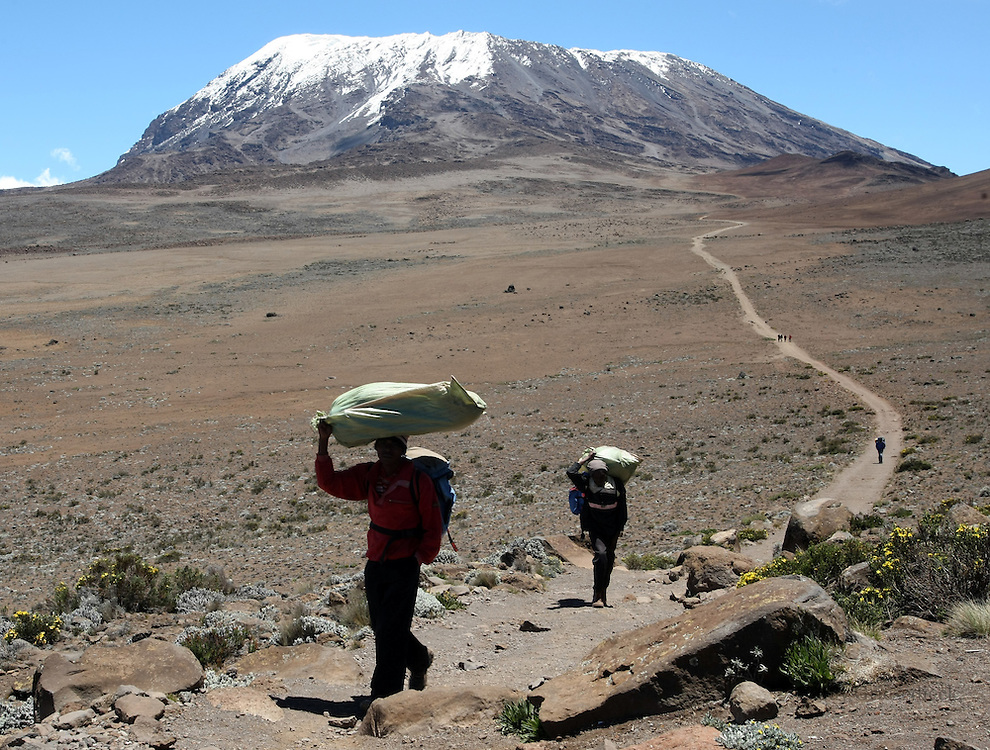 Climbing Mt. Kilimanjaro | Judy Griesedieck Photographer ...