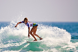 HUNTINGTON BEACH, CA - JULY 19: Alana Blanchard (USA) -- At the Hurley US Open of Surfing 2009 Nike 6.0 Pro Semi-finals Heat 2. Photo: Eduardo E. Silva
