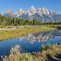 The Cathedral group in Grand Teton National Park