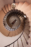 Scotty's Castle Spiral Staircase - Death Valley National Park, California