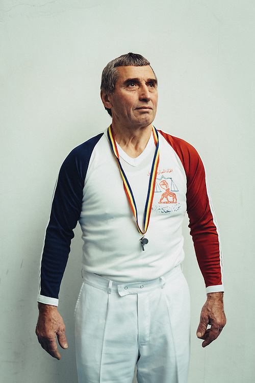 Iacob Chihai, Wrestling referee, Moldova
