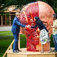 ARNHEM - Koning Willem-Alexander tijdens de opening van SONSBEEK '16: transAction, de internationale hedendaagse kunsttentoonstelling.  copyright robin utrecht