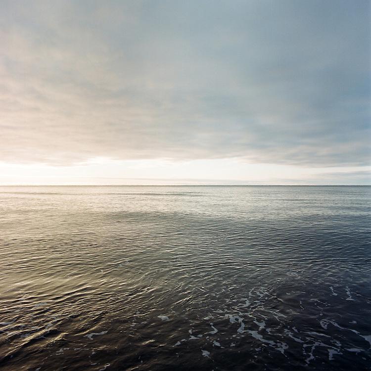 KIVALINA, ALASKA - 2007: The Chukchi Sea.