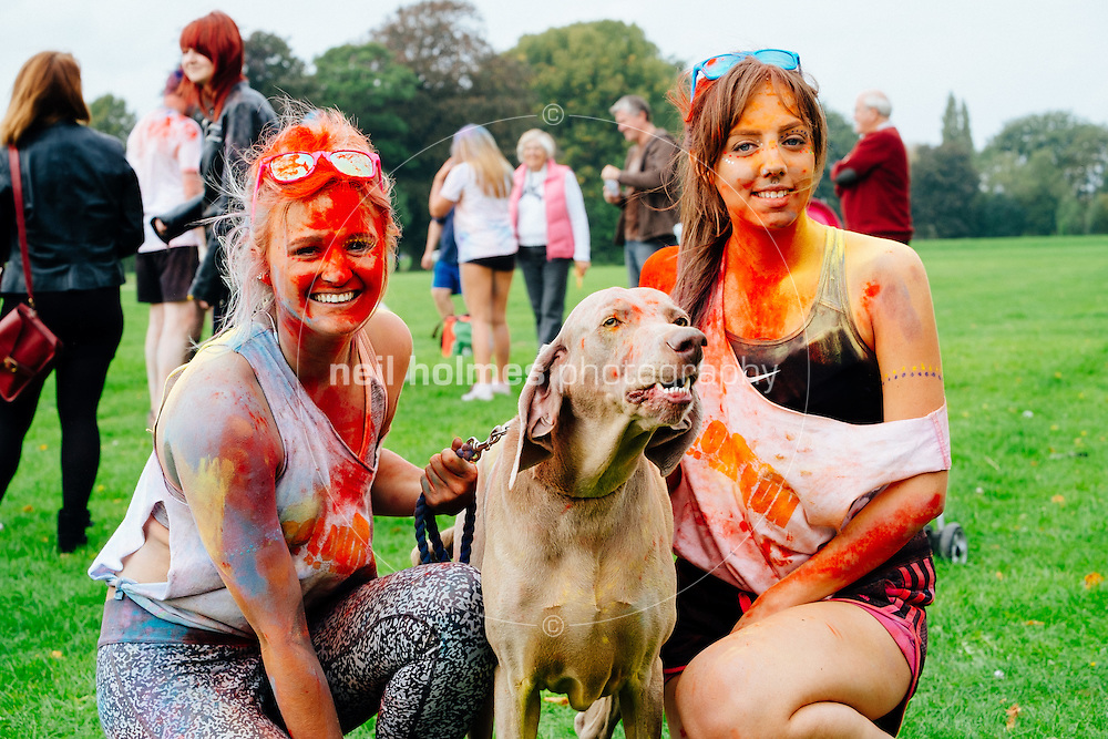 Kingston Upon Hull, East Yorkshire, United Kingdom, 14 September, 2014. Dove House Colour Run