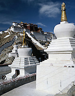 The Potala Palace, Lhasa, Tibet, China.