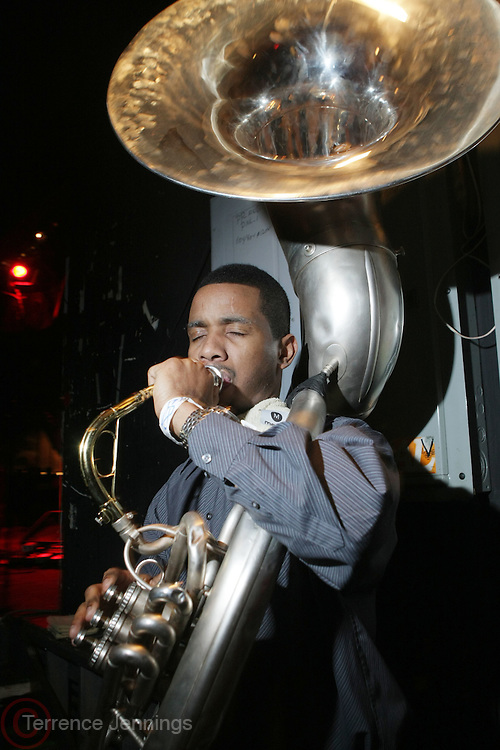 Tuba Gooding. Jr aka Daymon Bryson at The OkayPlayer Hoiliday Jammy presented by OkayPlayer and Frank Magazine held at BB Kings on December 18, 2008 in New York City..The Legendary Roots Crew gives back to fans with All-Star line-up of Special Guests to celebrate upcoming Holiday Season.
