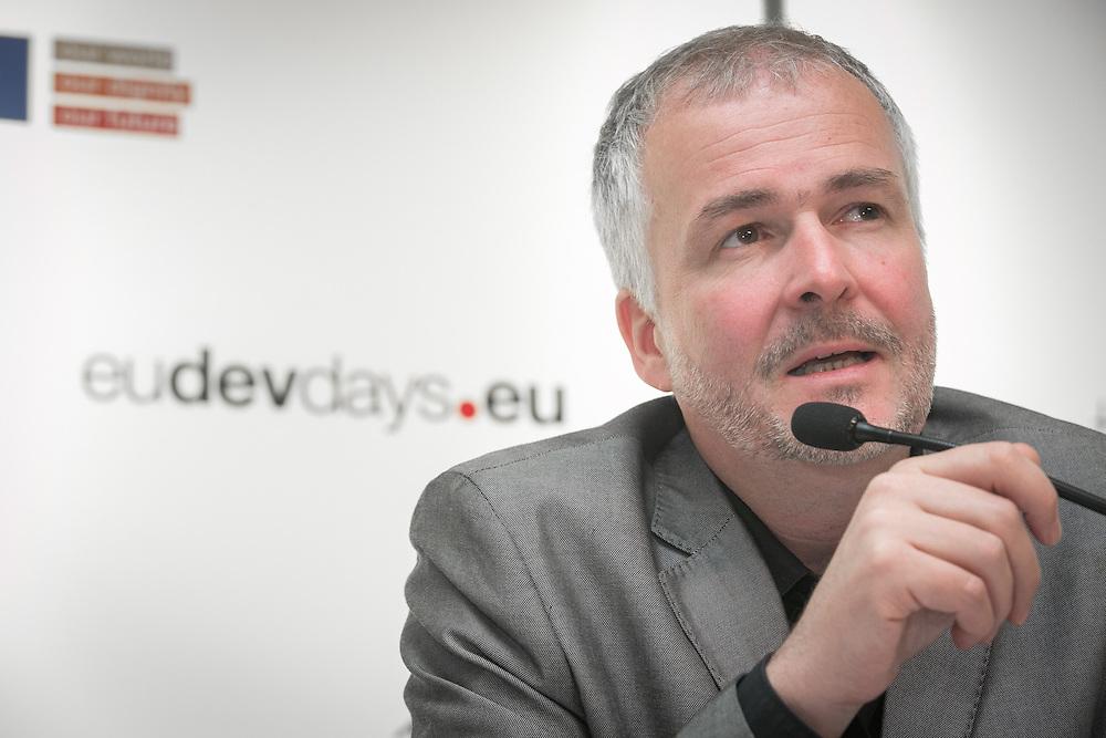 04 June 2015 - Belgium - Brussels - European Development Days - EDD - Urban - Urban future leading the development agenda - Johannes Krassnitzer , ART Programme Specialist , United Nations Development Programme (UNDP) © European Union