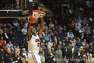 Ole Miss's Reginald Buckner vs South Carolina on Wednesday, January 20, 2010 in Oxford, Miss.