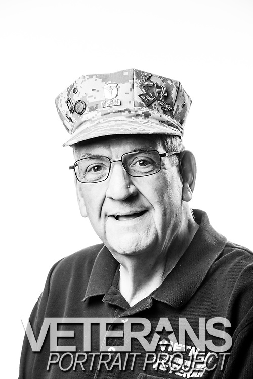 James L. Koehler<br /> Navy<br /> E-4<br /> Corpsman<br /> 10/07/63-05/16/68<br /> Vietnam War<br /> <br /> (Photo by Stacy L. Pearsall)