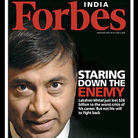 USE ARROWS &larr; &rarr; on your keyboard to navigate this slide-show<br /> <br /> Forbes - India<br /> Lakshmi Mittal.<br /> Front corver photo by Ezequiel Scagnetti