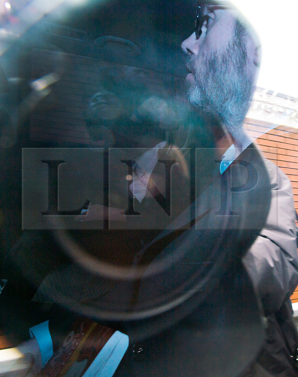 © London News Pictures. 10/07/2012. London, UK. Tetra Pak heir Hans Kristian Rausing  being driving in to West London Magistrates Court on July 18, 2012 to face charges of preventing the lawful and decent burial of his wife Eva, whose body was found at the couple's London home last week. Billionaire Hans Kristian Rausing was arrested after the body of his wife, Eva Rausing, 48, was discovered at their luxury home in Cadogan Place, Chelsea. The cause of her death has not yet been established. Photo credit: Ben Cawthra/LNP.