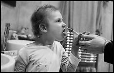 OCT 31 2014 Child having Chemotherapy