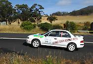 Beau Johnson & Chris McIndoe .1995 Subaru Impreza WRX STI Type RA.Day 2.Targa Wrest Point 2009.Southern Tasmania.1st of February 2009.(C) Joel Strickland Photographics.