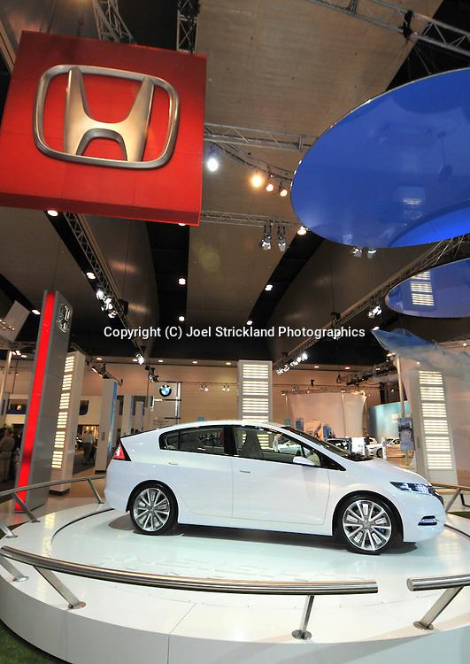 Honda Insight Concept.Media Preview .Melbourne International Motorshow.Melbourne Exhibition Centre.Clarendon St, Southbank, Melbourne .Friday 27th of February 2009.(C) Joel Strickland Photographics.