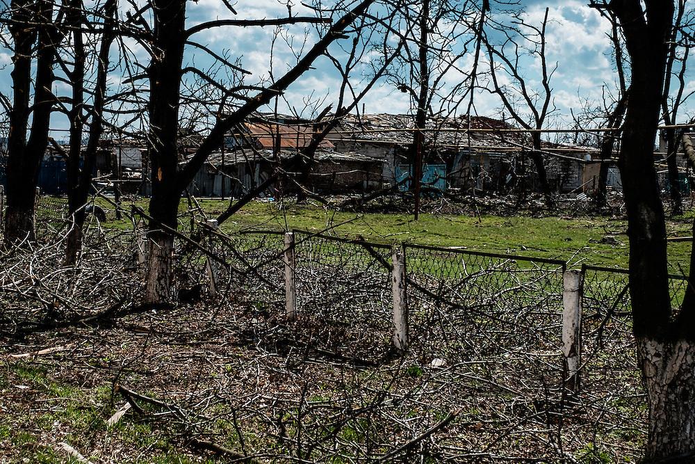 In Pisky, destruction is almost total.