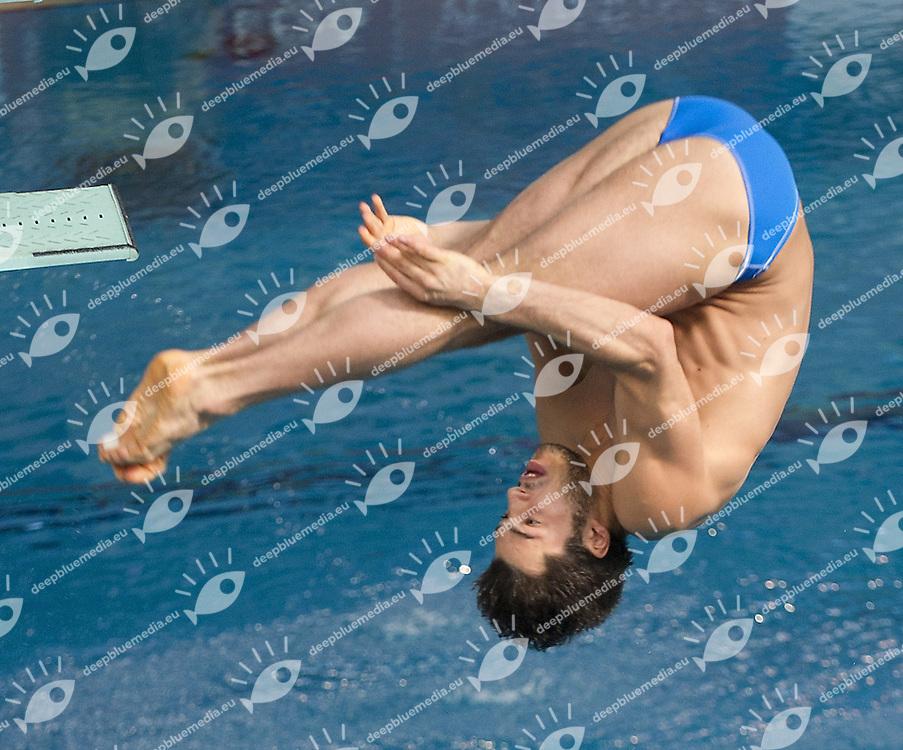 2nd Arena European Diving Championships 2011.Torino - ITA 8 -13 March 2011.Day02 - 1 m.  springboard Men Qualification.Rinaldi Tommaso ITA_.Photo G.Scala/deepbluemedia.eu