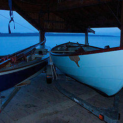 The Center for Wooden Boats, Cama Beach State Park, Camano Island, Washington, US