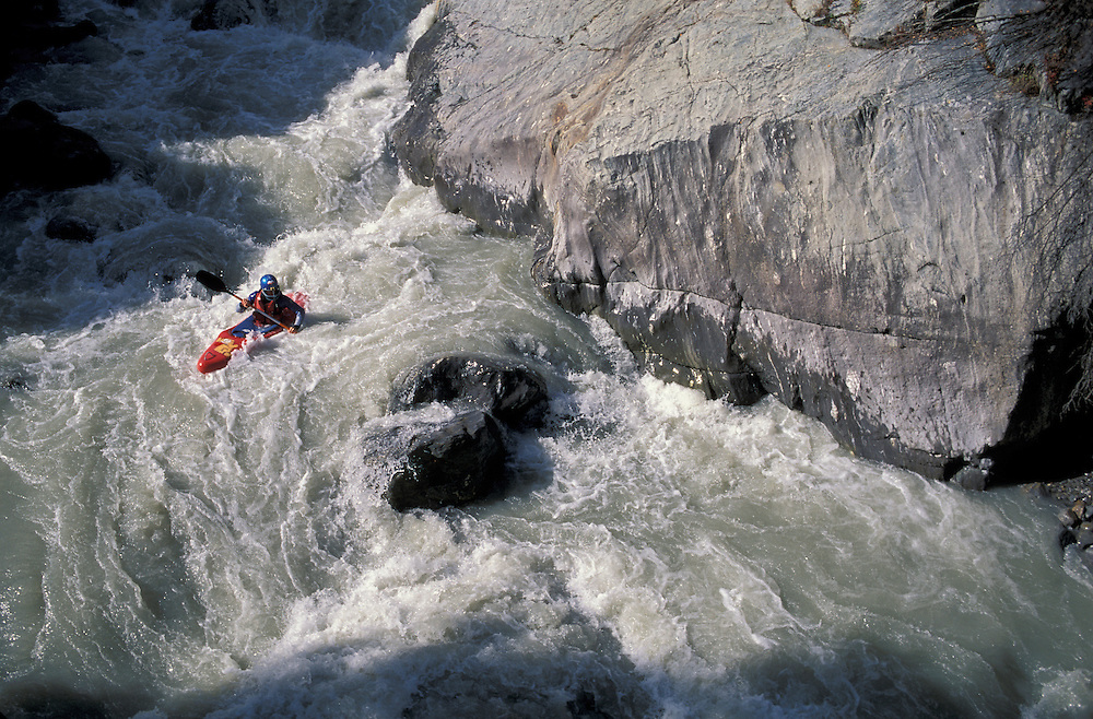 Kayaking, Venter Ache, Venter Tal, Tirol, Austria