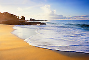6212-1009 ~ Copyright: George H. H. Huey ~ The beach at Back Bay, an isolated beach on the Caribbean coast of Tobago. Trinidad and Tobago.