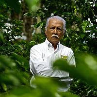 Portrait of Don Francisco Serracin, founder of Don Pachi Estate.