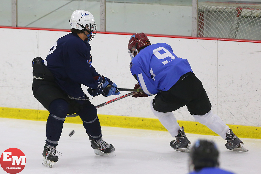 May 24, 2014; Foxboro, MA, USA; Images from Day one of the Blue Chip Tournament at the Foxboro Sports Center.