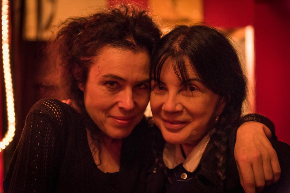 La directrice/ fondatrice du Festival Phenomena et sa Présidente du Conseil d'administration Carole Laure. Expériences en beauté!