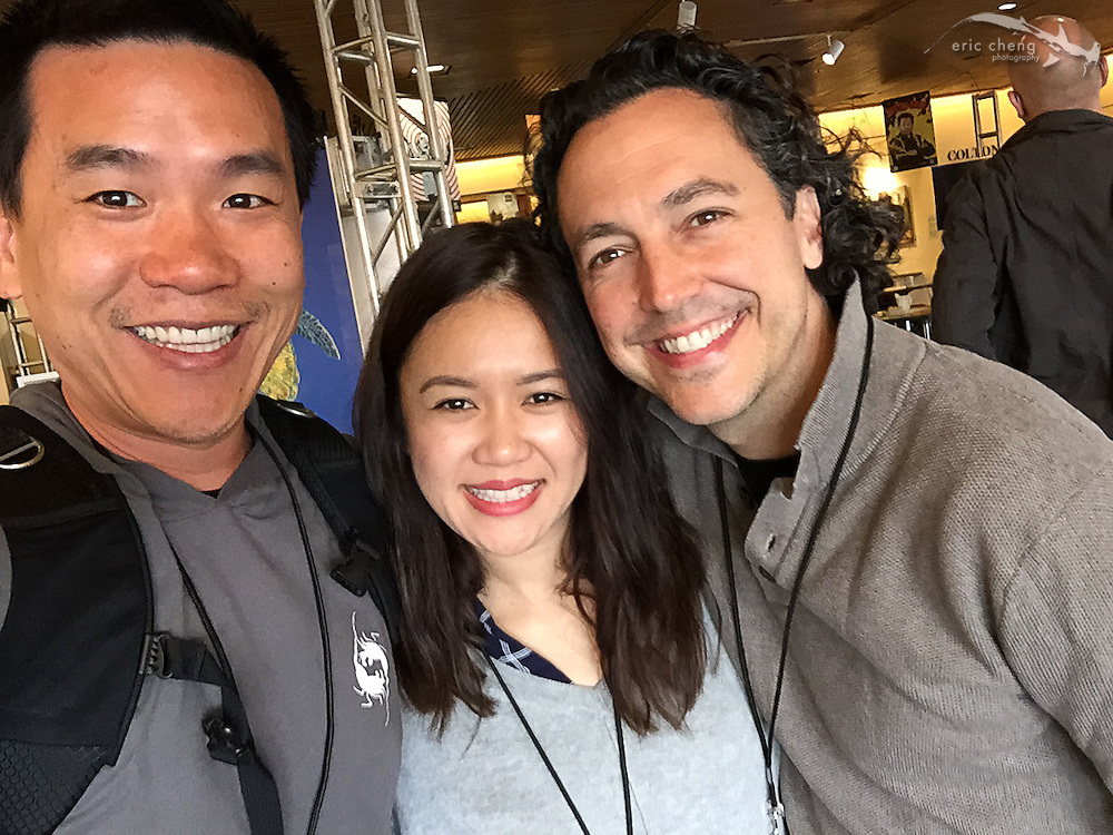 Meeting Natalie Tran (communitychannel) and Rob Mies (bats!)