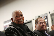 17 January 2011- Harlem, NY-  Former New York City Mayor David Dinkins and U.S.Congressman Jerry Nadler at The National Action Network Martin Luther King Day Celebration held at The House of Justice on January 17, 2011 in Harlem, New York City. Photo Credit: Terrence Jennings